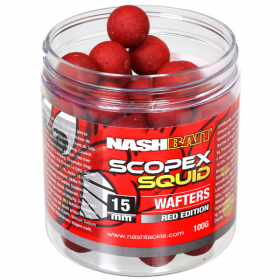 Nash Scopex Squid Red 15mm Wafters