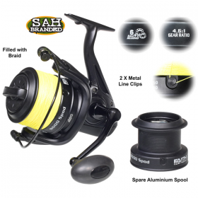 Faith Endurance 8000 Spod Reel - Pre Loaded with Braid