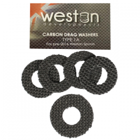 Weston Developments Carbon Drag Washers Type1A - Set of 5